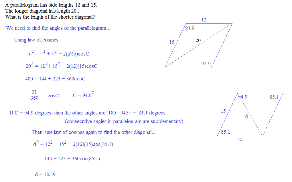 Math Plane Law Of Sines And Cosines Area Triangles. Worksheet. Law Of Sines Story Problems Worksheet At Clickcart.co