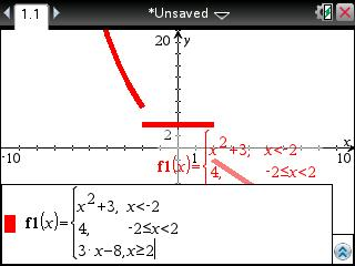 Edit a piecewise function image
