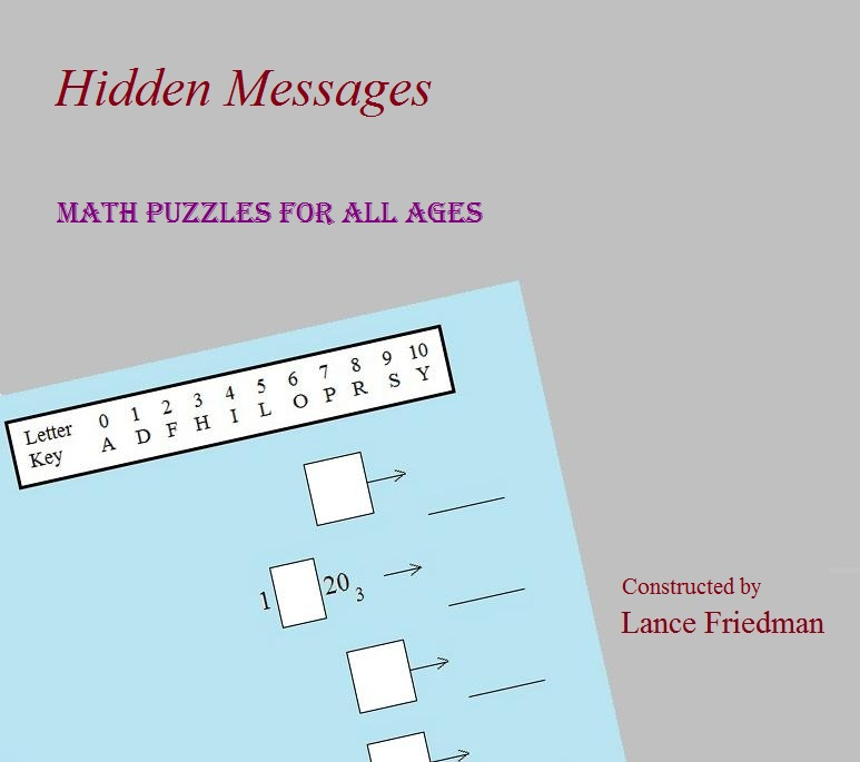 Math Plane - Hidden Message Math puzzles