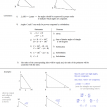similar triangles angle angle notes and examples