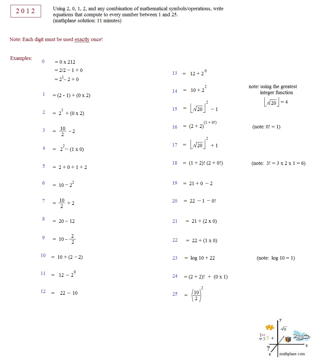 Math symbols geometry images symbol and sign ideas 1 25 symbols of geometry worksheet answers image collections math plane 2012 puzzle 2012 number puzzle biocorpaavc Gallery