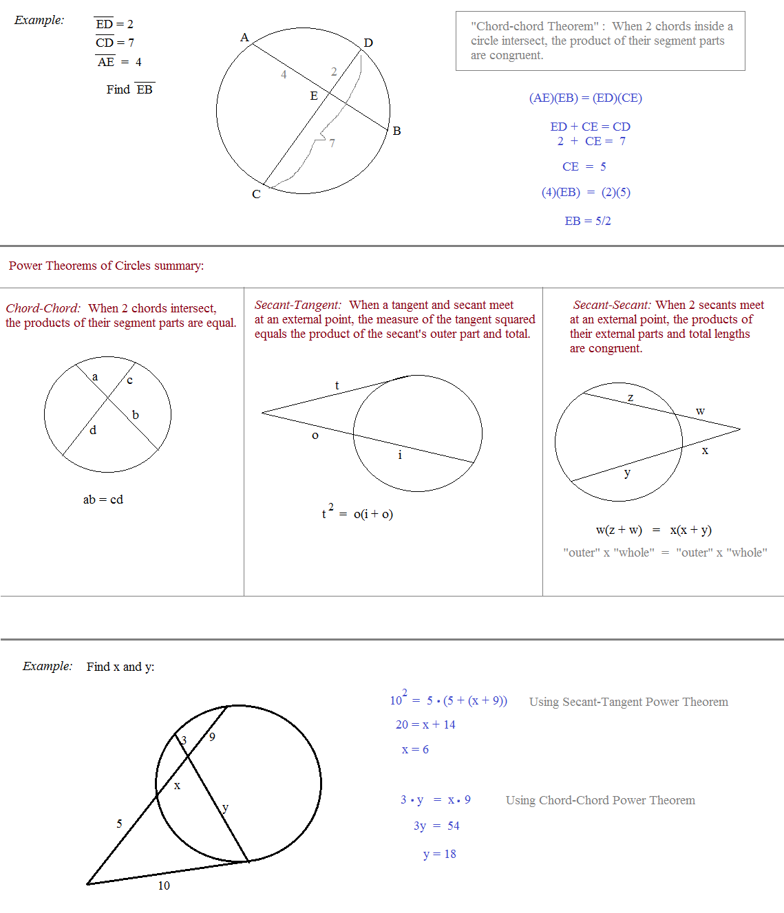 Math Plane Circles and Geometry – Geometry Circles Worksheet