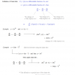 derivative chain and power rule notes and examples