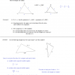 similar triangles side side side notes and examples