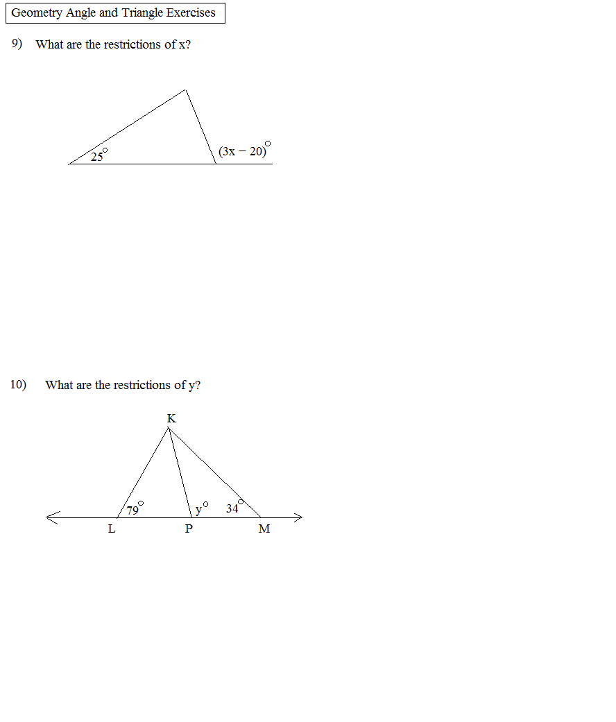 Exterior Math: Geometry Review 3