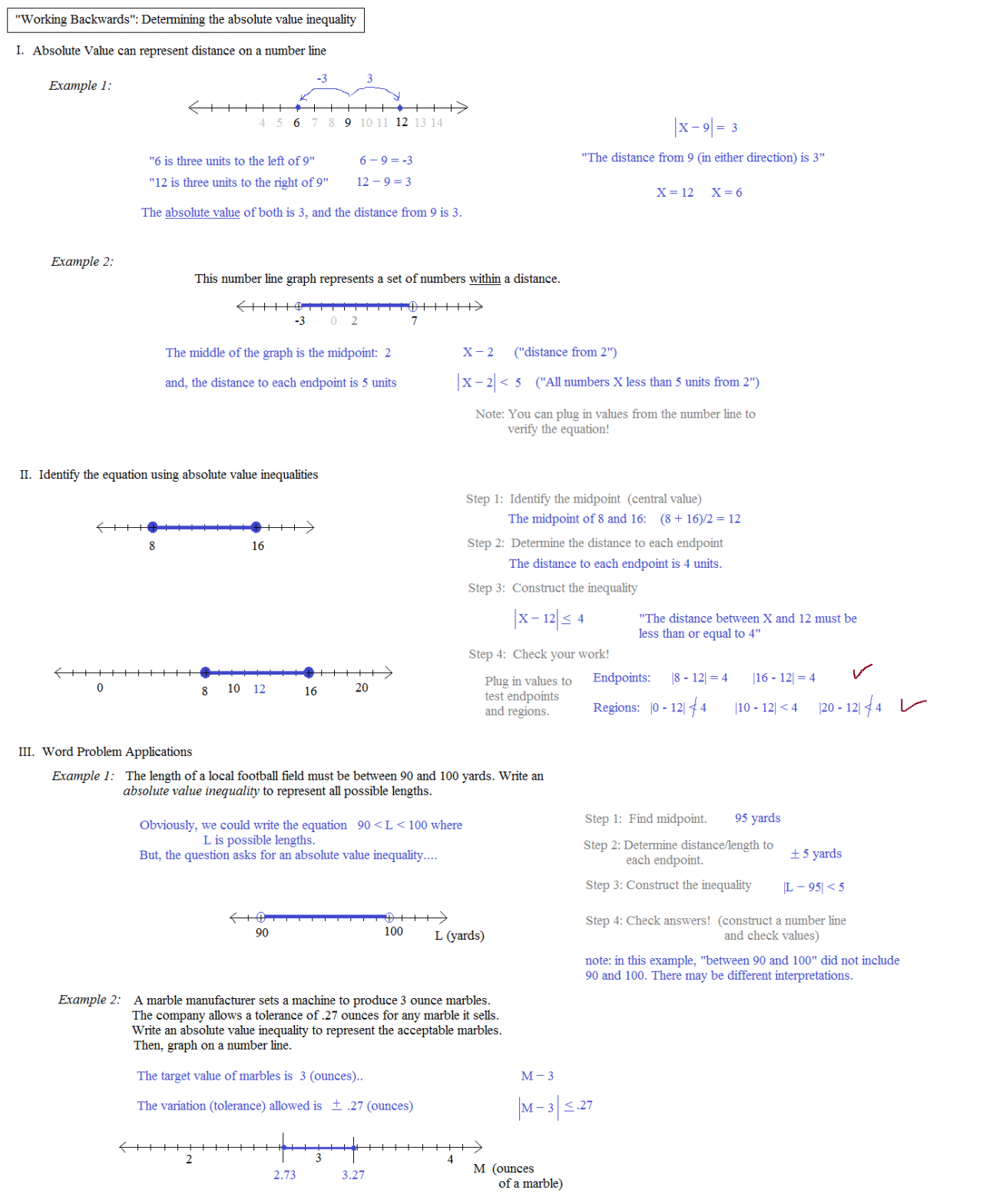 worksheet Absolute Value Inequalities Worksheet With Answers – Absolute Value Inequality Worksheet