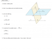 plane geometry questions