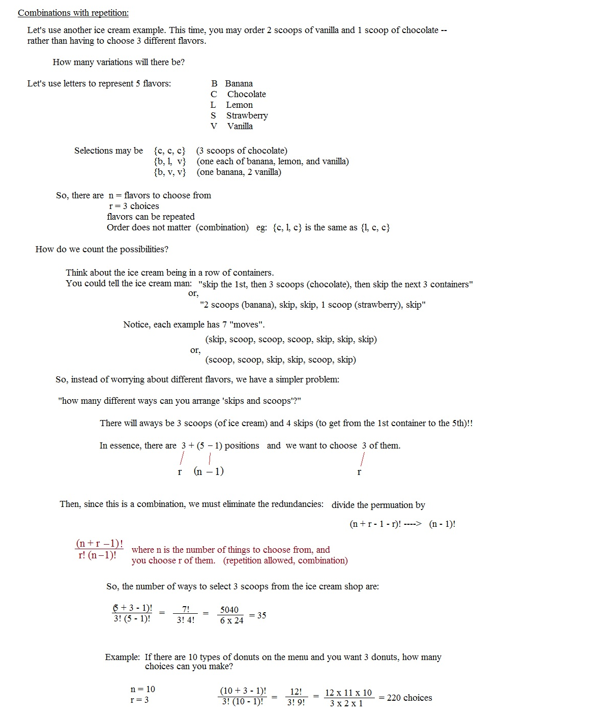 worksheet Combinations And Permutations Worksheet math plane combinations permutations notes