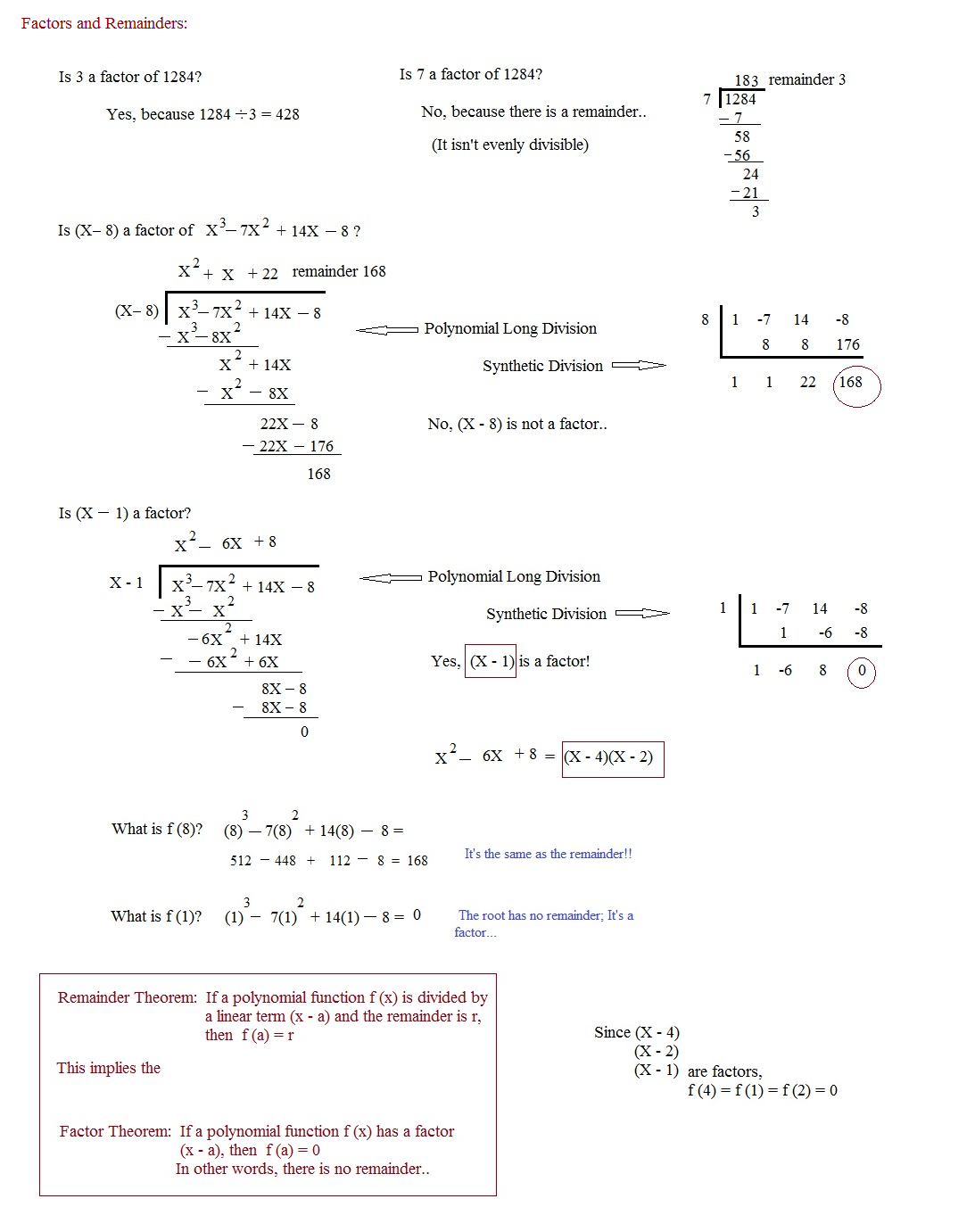 Printables Synthetic Division Worksheet math plane polynomials factors roots and theorems introduction introduction