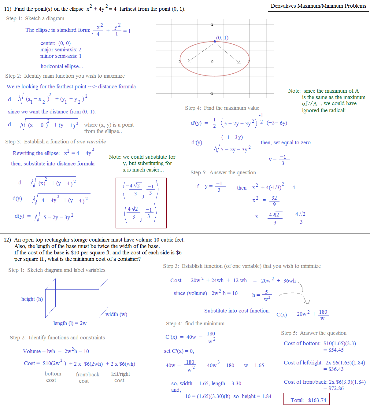 Quadratic Word Problems Worksheet with Answers - webmart.me
