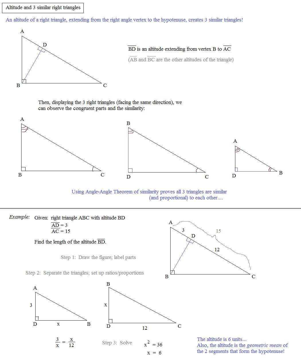 worksheet Similar Triangles And Proportions Worksheet math plane similar triangles ratios altitude and right triangles