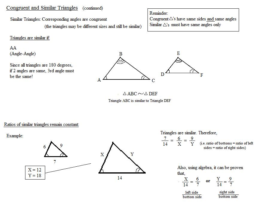 Congruent And Similar Triangles Worksheet – Congruent Triangles Worksheet
