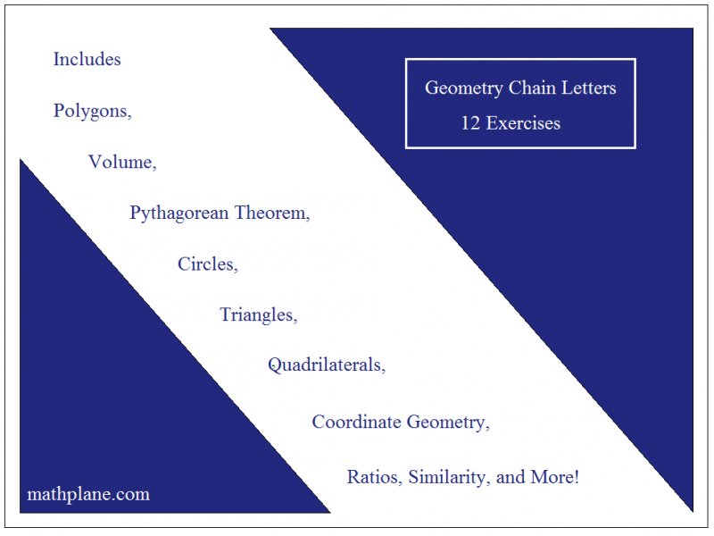 geometrychain letters