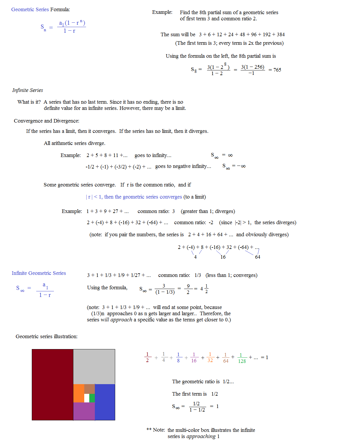 Arithmetic Series Worksheets – Sequences and Series Worksheets