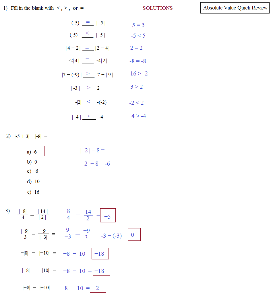 Uncategorized Solving Absolute Value Equations Worksheet – Absolute Value Inequality Worksheet