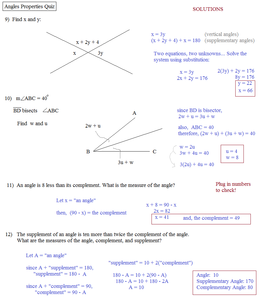 Free Worksheet Introduction To Proofs Worksheet introduction to proofs geometry worksheet abitlikethis angles properties quiz 2 solutions