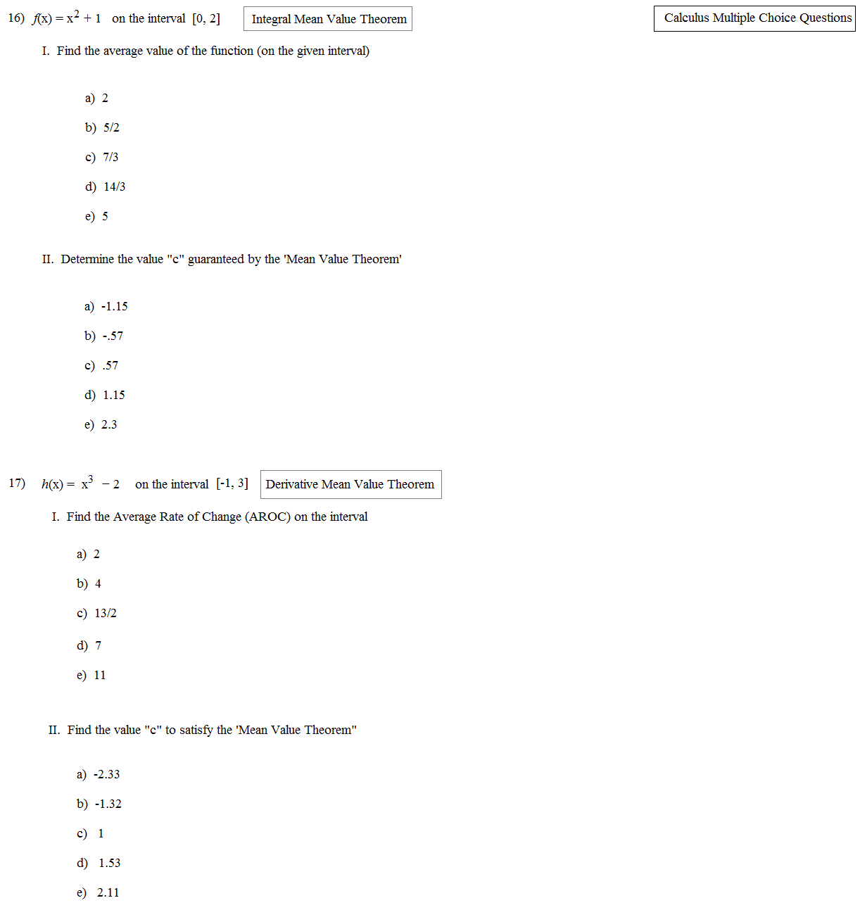 Uncategorized Multiple Choice Math Worksheets exponent rules worksheet multiple choice math plane calculus review 5 ap choice