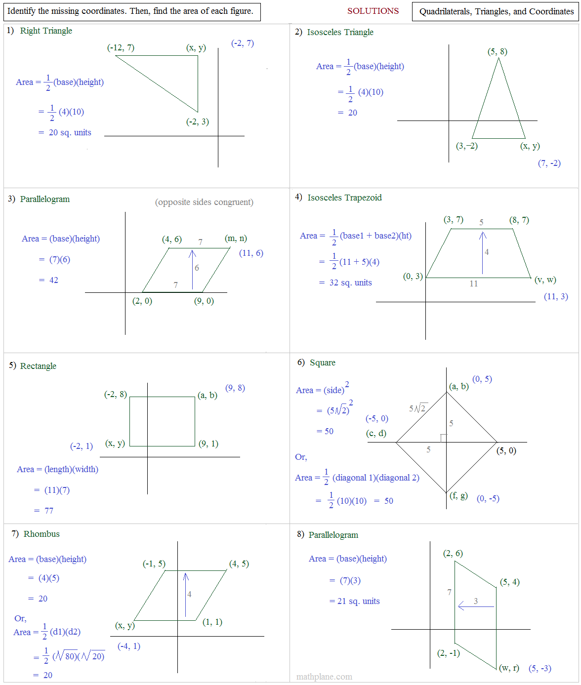 worksheet Area And Perimeter Of Polygons Worksheet area and perimeter of polygons worksheets matrix multiplication worksheets