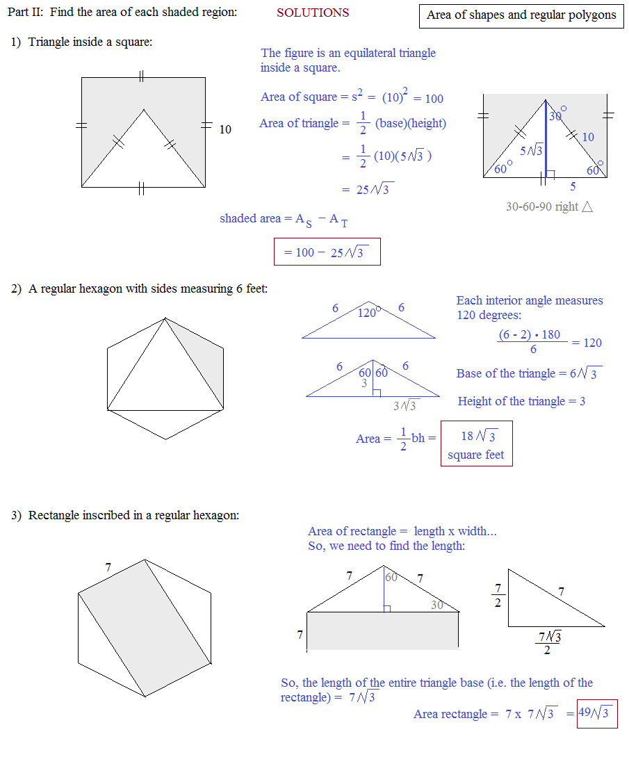 worksheet Polygon Shapes Worksheet area of a regular polygon worksheet abitlikethis 3rd grade math word problems worksheets newhairstylesformen2014 com