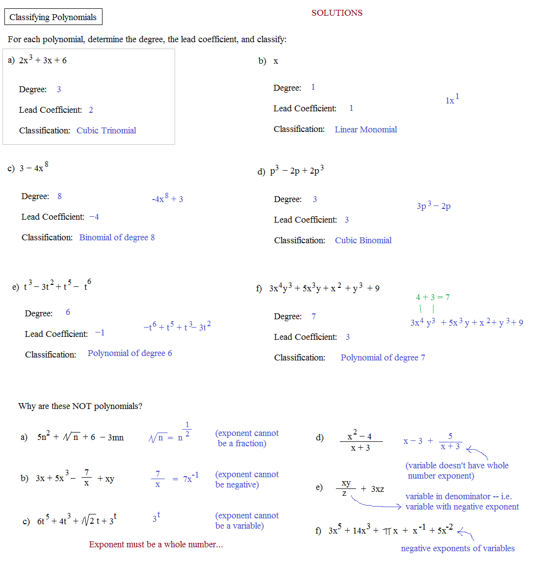 Uncategorized Classifying Polynomials Worksheet classifying polynomials worksheet termolak operations with rupsucks printables worksheets
