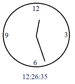 clock question minute hand meets hour hand