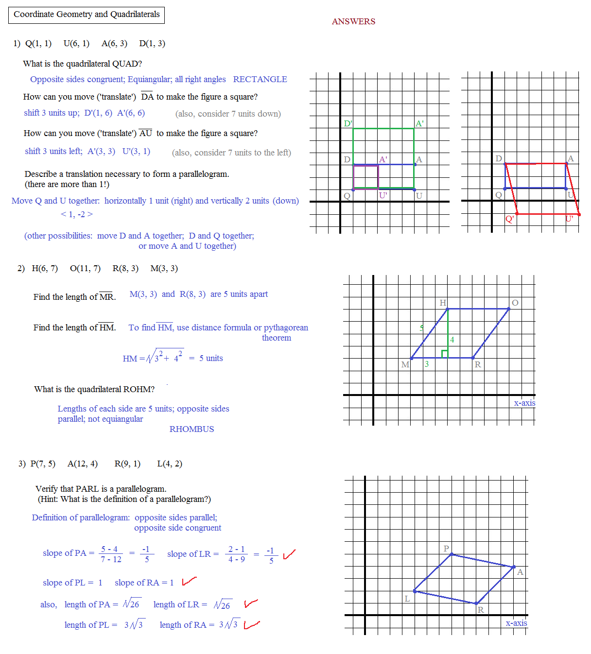 Printables Geometry Worksheet Answers geometry homework answers
