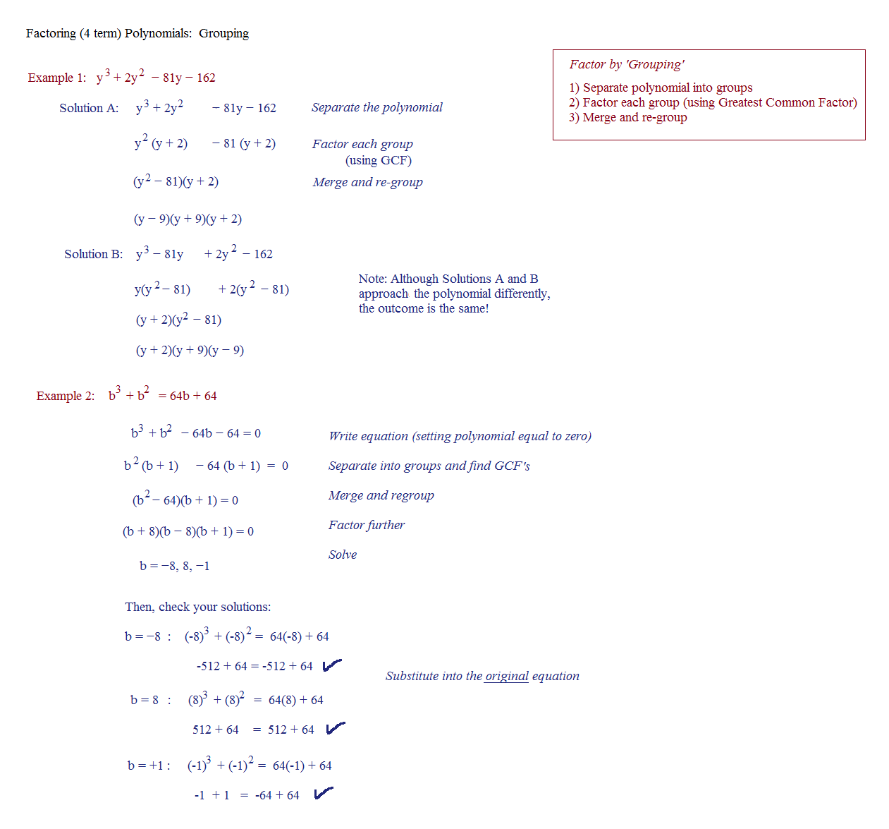 worksheet Factoring Binomials And Trinomials Worksheet factoring help homework polynomial math trinomials a worksheets intrepidpath plane simplifying rational polynomials