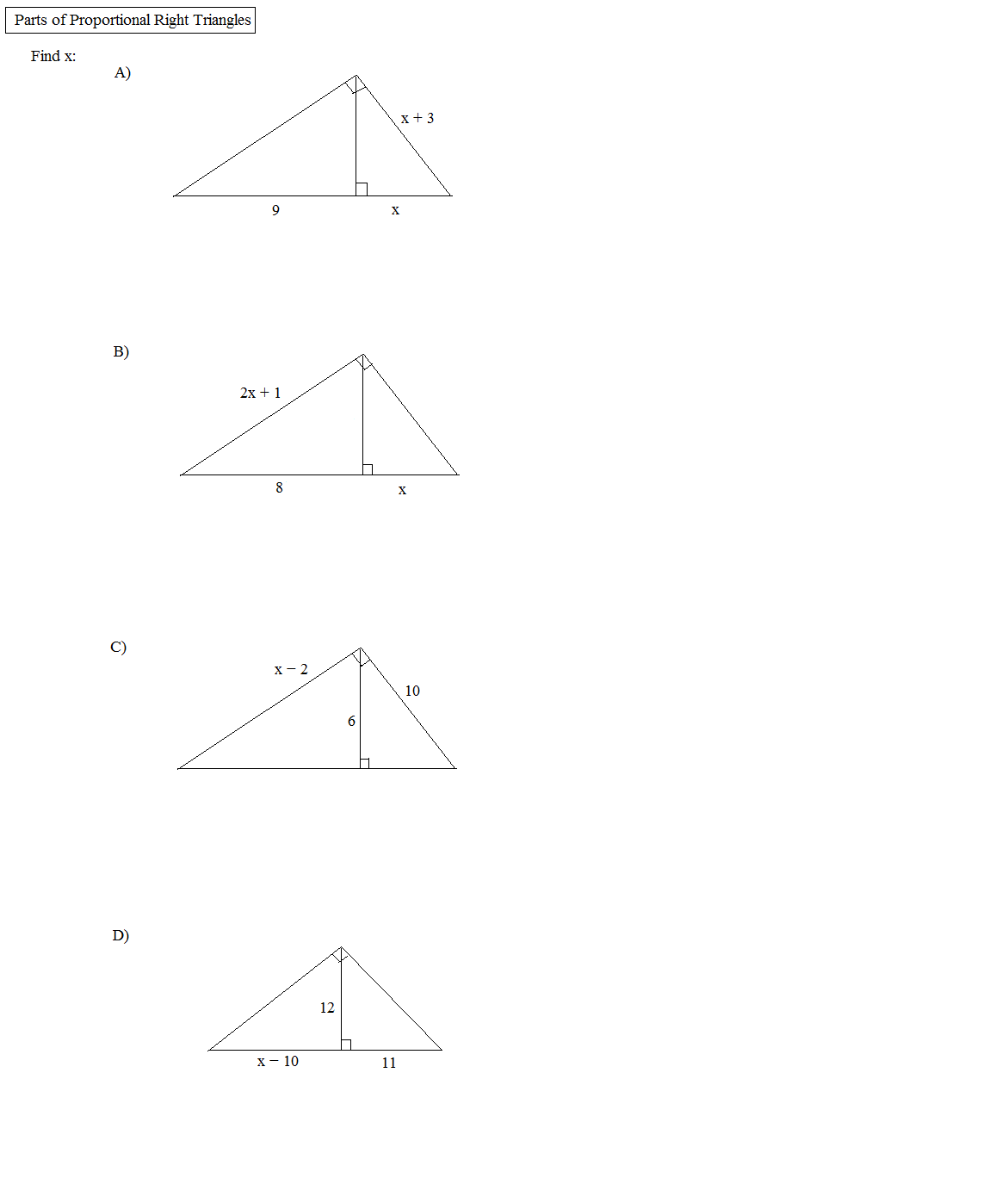 Geometry Special Right Triangles Worksheet Answers Templates and – Special Right Triangles 45 45 90 Worksheet