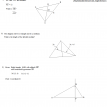 geometry median altitude centroid questions