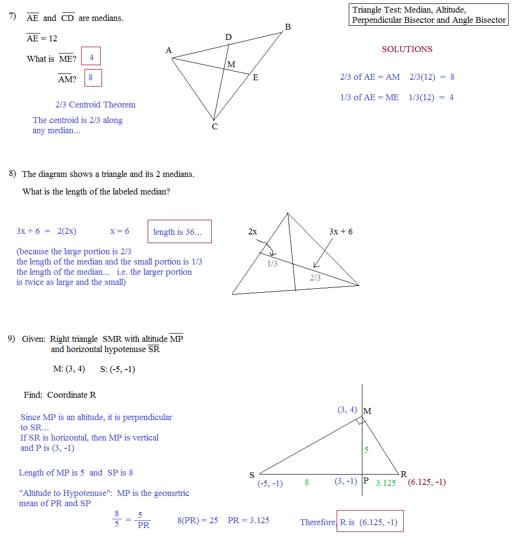 worksheet Medians Of A Triangle Worksheet angle bisectors worksheet abitlikethis math plane triangle parts median altitude bisectors