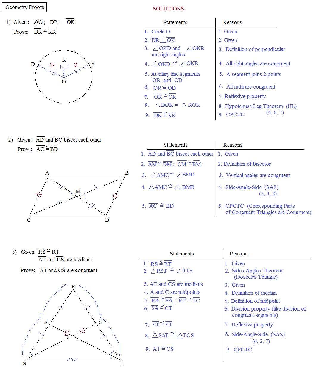 +Proofs+Practice Two Column Proof Geometry Postulates and proof ...