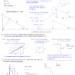 geometry pythagorean theorem application quiz solutions