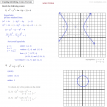 graphing conics exercise solutions