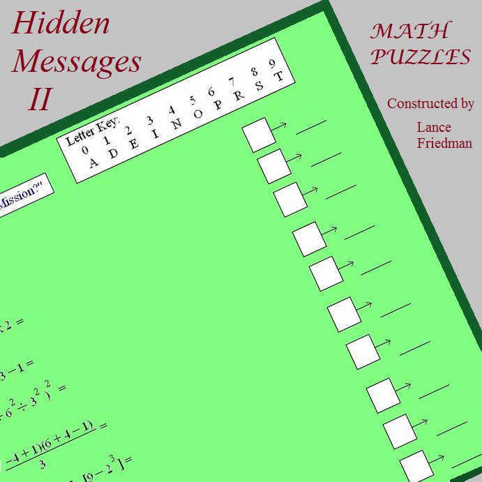 hidden message 2 cover