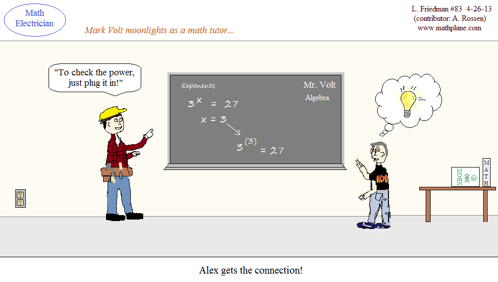 Math Humor Archive (Spring 2013)