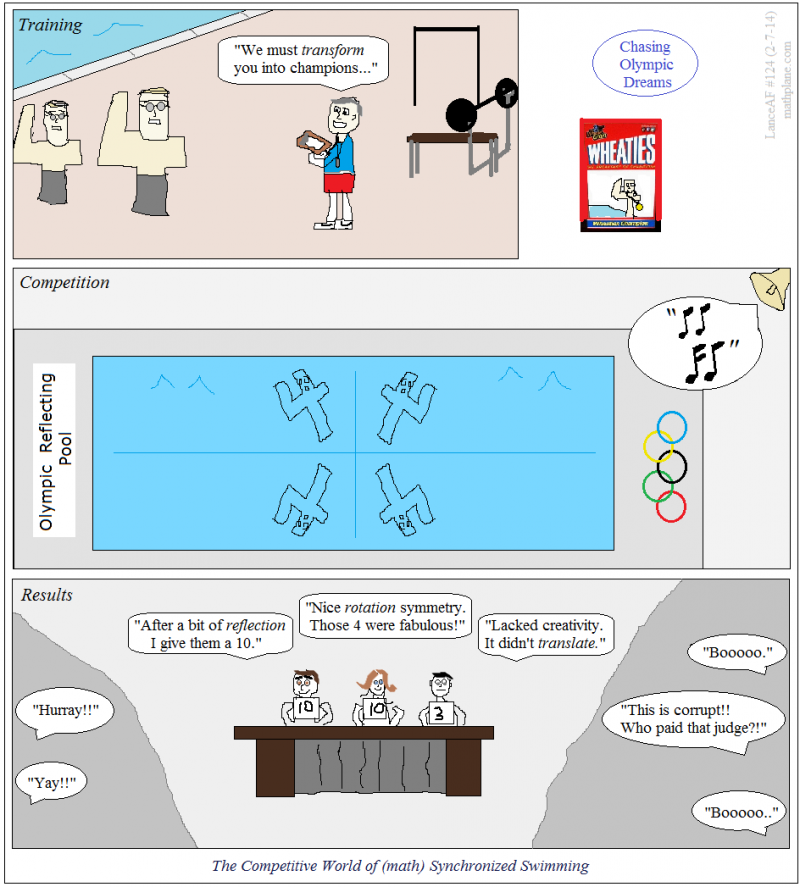 math comic 124 chasing olympic dreams