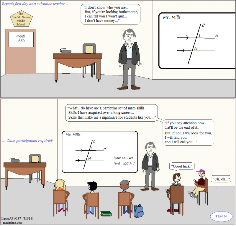 math comic 137 taken