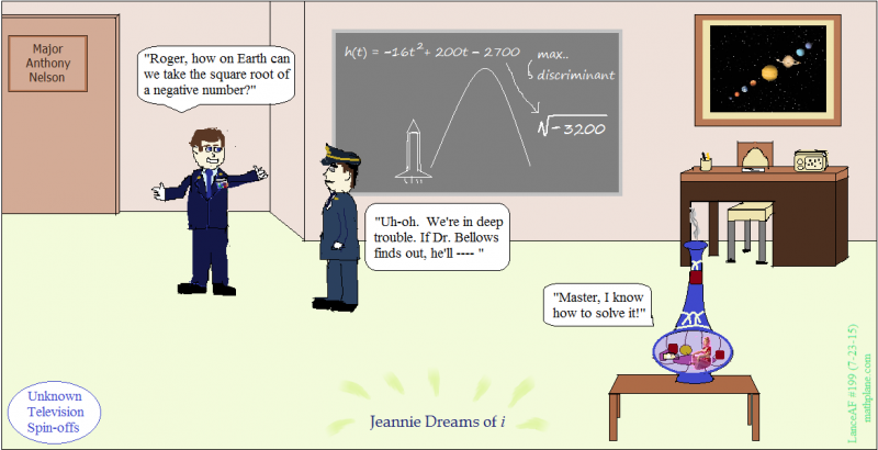 math comic 199 jeannie dreams of i