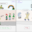 math comic 231 parades and celebrations - pi and st pats