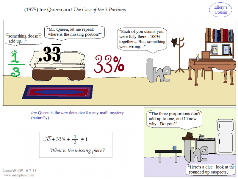 math comic 89 ellery cousin