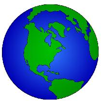 math sites and virtual world globe image
