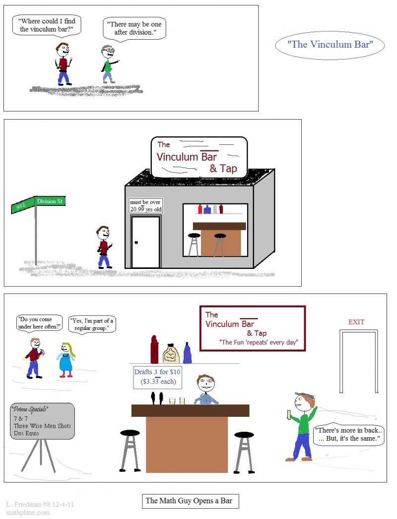 math webcomic 8 the vinculum bar