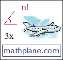 mathplane button small