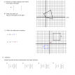 matrix coordinate geometry worksheet  2