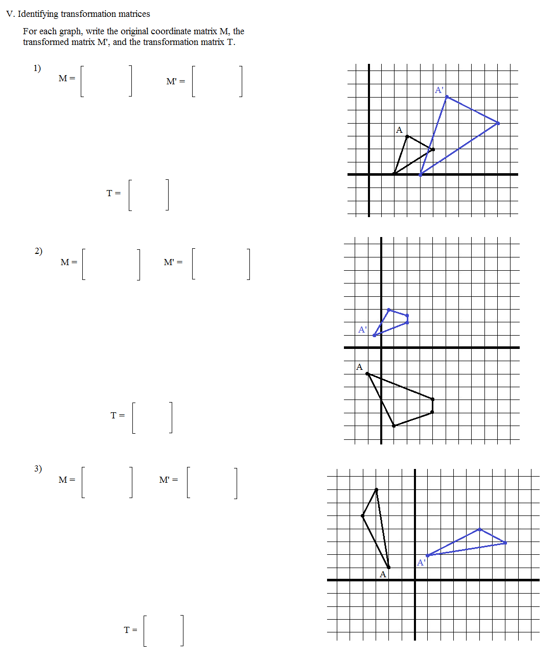 Function Transformations Worksheet – Transformations Math Worksheets