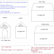 oscar doghouse math problem surface area labels and cost