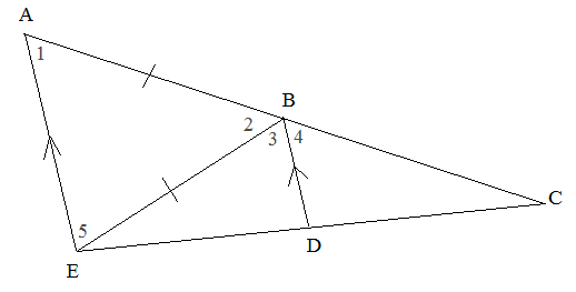 parallel lines and angle measures