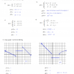 piecewise functions quiz solutions