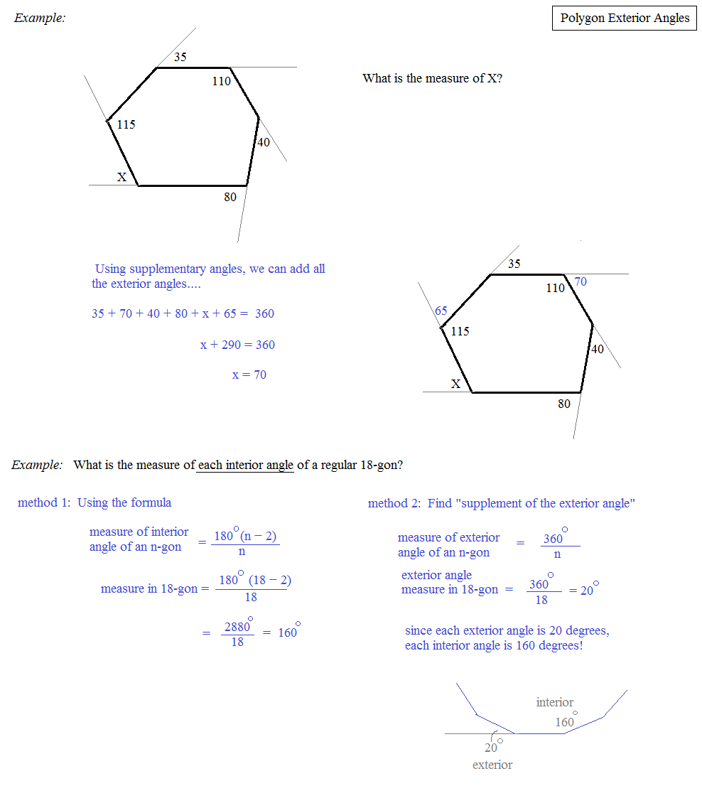 Math Plane Polygons