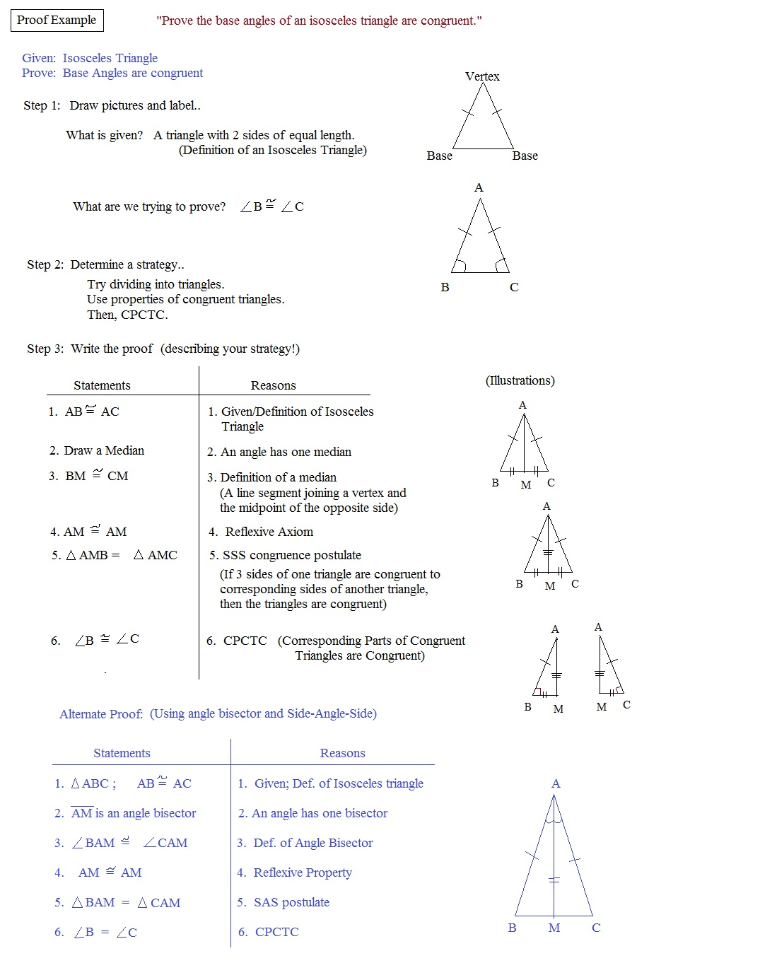 Geometry Congruent Triangle Proofs Worksheet Together With Worksheet ...